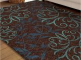 63 X 90 area Rug Home Outfitters Voyager 63 Inch X 90 Inch Brown area Rug