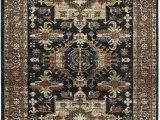 """7 by 10 area Rug Kaleen 7 10"""" X 10 0"""" area Rug In Navy Mcalester Collection"""
