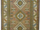 """7 by 11 area Rugs Turkish Vintage area Rug 7 7"""" X 12 11"""" 91 In X 155 In"""