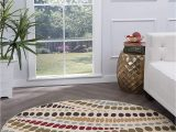 7 Feet Round area Rugs Amazon Tayse Allie Beige 8 Foot Round area Rug for