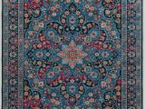 7 X 10 Blue area Rug L Powell7 X 10 Multi Color area Rug Emerald