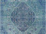 "7 X 10 Blue area Rug Momento I 7 10"" X 9 10"" Blue area Rug"