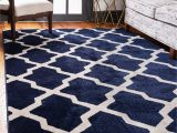 7 X 10 Blue area Rug Navy Blue 7 X 10 Lattice Rug area Rugs Rugs