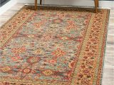 7 X 10 Blue area Rug Unique Loom Country Traditional 7 Feet by 10 Feet 7 X 10
