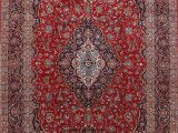 7 X 13 area Rug Amazon Floral Traditional Red Wool area Rug oriental