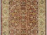 """7 X 9 area Rugs Lowes Safavieh Heritage Decorative Rug 7 6"""" X 9 6"""" Red Gold"""