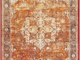7 X 9 area Rugs Lowes Surya Serapi Updated Traditional area Rug 6 Ft 7 In X 9 Ft 6 In Rectangular orange