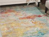 7 X 9 area Rugs Under $100 Amazon Nourison Celestial Modern Watercolor area Rug 6