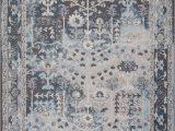 7×9 Blue area Rug Ladole Rugs Pasific Cream Brown Blue Bordered Design Vintage Style Durable Indoor area Rug Carpet 7×9 67 X 92 200cm X 280cm Walmart Com
