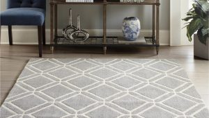8 10 area Rugs Lowes Allen Roth Shae 8 X 10 Grey Indoor Geometric Mid Century Modern area Rug