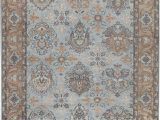 """8 by 13 area Rugs E Of A Kind Hand Knotted Blue 9 8"""" X 13 7"""" Wool area Rug"""