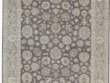 """8 by 13 area Rugs E Of A Kind Hand Knotted Gray 9 8"""" X 13 3"""" Wool area Rug"""
