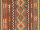 """8 by 7 area Rugs E Of A Kind Alanna Handwoven Flatweave 4 7"""" X 8 Wool Dark Copper area Rug"""