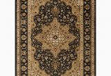 8 Foot by 10 Foot area Rugs Tayse Rugs Elegance Black 8 Ft X 10 Ft Traditional area