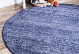 8 Ft Round Rug Blue Angelica Navy Blue 8 Ft Round area Rug In 2020