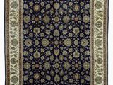 8 X 10 Navy area Rug E Of A Kind Cangelosi Traditional oriental Hand Knotted 8 X 10 Wool Navy area Rug