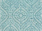 8 X 10 Teal area Rug Transitional area Rug Sea Foam Teal White 8 X 10 In