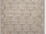 8×10 area Rugs Under 100.00 8 X 10 William Morris Handmade Wool oriental area Rug 8×10 Gray