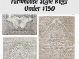 8×10 area Rugs Under $150 Farmhouse Style Rugs Under $150