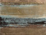 8×10 Blue and Brown area Rugs Art Carpet Addison Faded Lines area Rug Brown & Blue 8 X 10