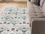 8×10 Blue and Brown area Rugs Robot Check
