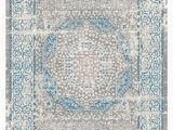8×10 Blue and Gray Rug Goodview oriental 8 X 10 Gray ash Blue ash area Rug