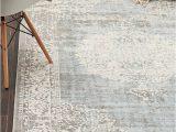 8×10 Farmhouse Style area Rugs Light Blue 8 X 10 New Vintage Rug area Rugs