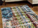 8×10 Multi Color area Rugs Glitzy Rugs Ubsm M0000a15 8 X 10 Ft Machine Woven