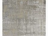 8×10 Off White area Rug E Of A Kind Hand Knotted New Age Modern Gray F White 8 X 10 Wool area Rug