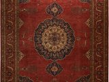 """9 by 9 area Rug Antique Inspired Ahar Fine area Rug 9 8"""" X 13 9"""""""