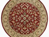 9 Foot Round area Rug Kaleen Mystic William Red 9 Ft X 9 Ft Round area Rug
