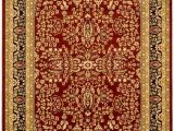 9 Ft by 12 Ft area Rugs Lyndhurst Dee Red Black 9 Ft X 12 Ft Indoor area Rug