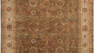 9 Ft X 11 Ft area Rugs Pasargad Home P 701 M Brown 9×12 Tabriz Collection Hand