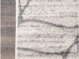 Abstract Loomed area Rug Nuloom Nuloom Leaves Abstract Accent Rug 2 X 3 Light Grey