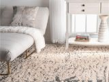 Abstract Loomed area Rug Nuloom Nuloom Milda Cotton Abstract Shaggy area Rug or Runner