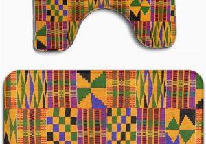 African Bathroom Rug Set Amazon Mahenshangm African Tribal Traditional Cultural
