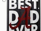Alabama Crimson Tide Bathroom Rug Set Amazon Veta Megica Best Dad Ever Alabama Crimson Tide