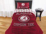 "Alabama Crimson Tide Bathroom Rug Set Ncaa Alabama Crimson Tide ""affiliation"" Twin or Xl forter Set Walmart"