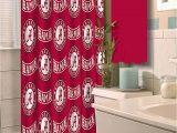 Alabama Crimson Tide Bathroom Rug Set Ncaa University Of Alabama Decorative Bath Collection Shower Curtain