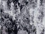 "Aleyna Gray Ivory area Rug Amazon Aleyna Home Black 4 10""x8 Rug Furniture & Decor"