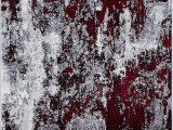 "Aleyna Gray Ivory area Rug Amazon Aleyna Home Red 2 6""x4 Rug Furniture & Decor"