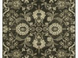 "Allen and Roth area Rugs at Lowes Mohawk Home Mecklenburg Dark Gray area Rug 5 3"" X 7 10"