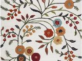 Amazon 5 by 8 area Rugs Rizzy Home Dimensions Collection Wool area Rug 5 X 8 Ivory Gray Rust Blue Floral