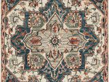 "Amazon area Rugs 5 X 7 Loloi Victoria Collection area Rug 5 0"" X 7 6"" Blue Red"