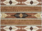 Amazon Com Round area Rugs Rizzy Home Collection Wool area Rug 10 Round Multi Brown Blue Gold Khaki F White southwest Tribal