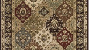Amazon Prime 4×6 area Rugs Superior Palmyra 4 X 6 area Rug Contemporary Living Room & Bedroom area Rug Anti Static and Water Repellent for Residential or Mercial Use