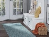 Amazon Prime Outdoor area Rugs Villa Geometric Aqua Easy Care Indoor Outdoor Runner Rug 2 7 X 7