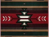 "American Indian Style area Rugs Champion Rugs southwest southwestern Native American Indian Modern area Rug Carpet Red 7 8"" X 10 8"""