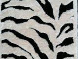 Animal Print area Rug 5×7 5×7 Zebra Rug