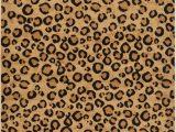 Animal Print area Rugs 8×10 Unique Loom Leopard Wildlife Modern Animal Print area Rug